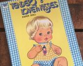 Vintage 1970s Whitman Tender Love'n Kisses Paper Doll Book - Unused / Uncut