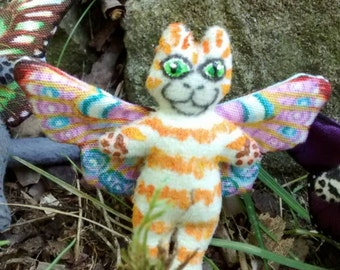Cat Doll plush Ginger TabbyTotally Flealess Too Cute For Your Cuteness Collection Made By Tessimal