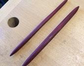 Hair Stick: Purpleheart