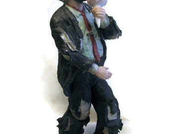 Emmett Kelly Jr. Figurine -Cotton Candy 1986
