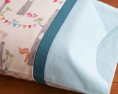 Custom Organic Toddler-Sized Pillow Case; Design your Own Toddler or Travel Pillowcase by Organic Quilt Company