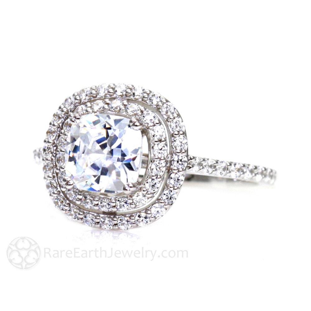 Engagement Rings moreover 161340523040 additionally True Brilliance besides Emerald Diamond Halo Pendant 18k White Gold 55774 additionally Gabriel Co 18k White Gold Double Halo Diamond Engagement Ring 5033. on 1 carat diamond double halo ring