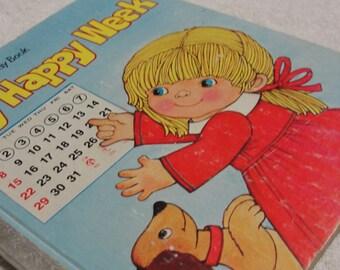 My Happy Week Childrens Book