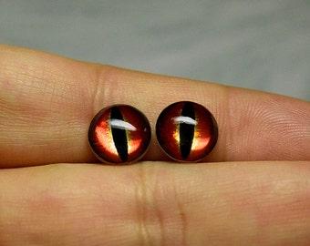 Dragon eyes 10mm Metallic color Red