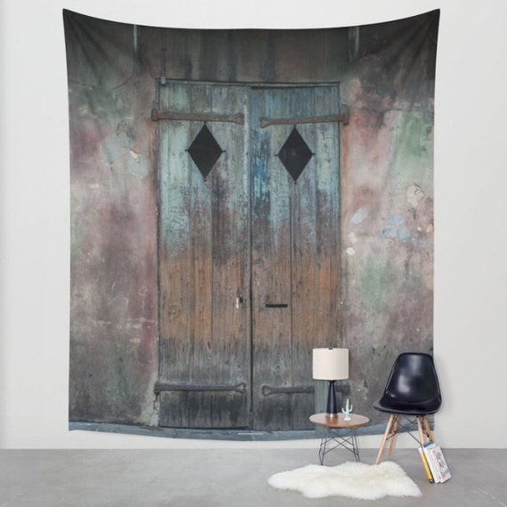 Rustic Wall Tapestry New Orleans Wall Art By
