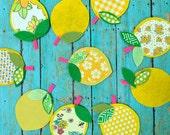 Lemon Line Up -- Sweet & Yummy Bunting, Garland