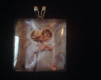 C7  Little Angels Pendant Necklace