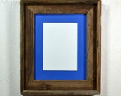 8 x 10 picture frame with 5 x 7 or 8 x 6 mat
