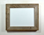 "9"" x 12"" picture frame gallery style from eco friendly reclaimed wood"