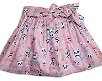 Girl's Panda Skirt / Kids Clothing / Childrens Clothes / Baby Gift