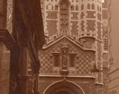 VINTAGE  POSTCARDS, St. Barts The Great, London, UK, collected by junqueTrunque