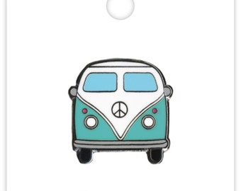 Beach Bus Collectible Pin (Limited Edition) Doodlebug Collection Fun In The Sun Enamel Pin (5306)