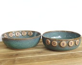 Reserved for Maureen - Stoneware Bowls - Rosie