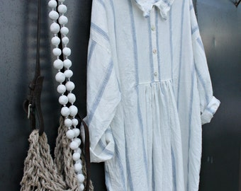 French Linen Dress
