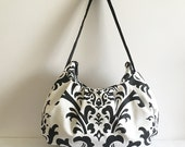 Pleated Bag // Shoulder Purse - Traditions White