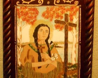 Blessed St. Kateri Tekakwitha Bust