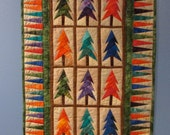 Jeweled Forest Wallhanging