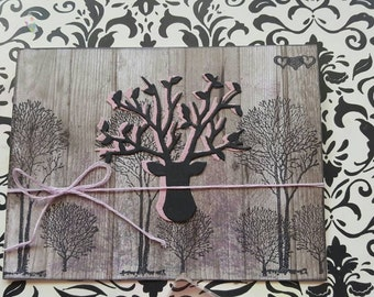 Dear in the woods -Woodland Collection card 1