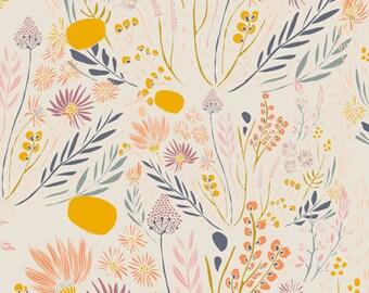 morning walk leah duncan / art gallery fabrics / wispy daybreak / by the yard / baby nursery kids room decor / quilting cotton