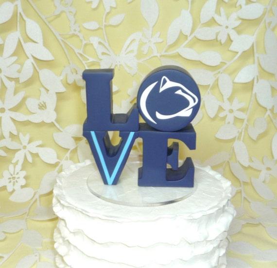 Penn State Cake Topper