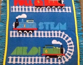 Thomas and Friends NoSew Fleece Blanket