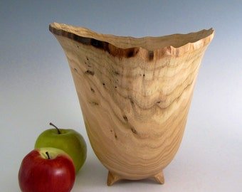 Natural Edge Butternut Wood Turned Bowl - Wedding Gift - Birthday Gift - Housewarming Gift - Wooden Bowl - Wood Turned Bowl