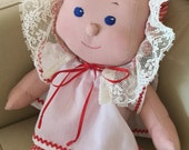 Baby Doll - Machine Washable - 15 1/2 inches - Red