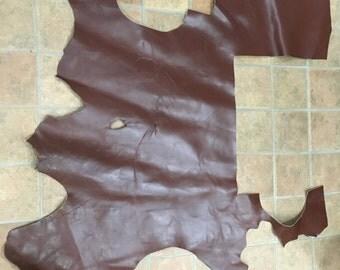 Brown Chap Weight Cowhide Scrap