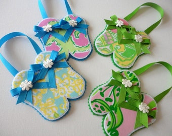 4 Lilly Pulitzer Ornaments