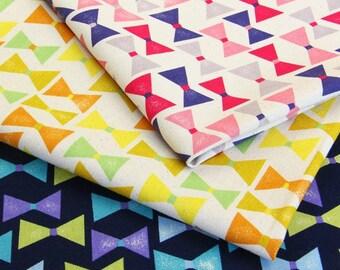 Japanese Kawaii Cotton Fabric - Bow - Half Yard