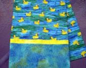 Rubber Duckie pillowcase