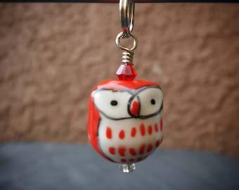 SALE The Owlettes: Valentina- Single Stitch Marker