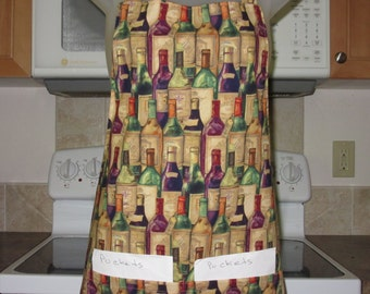 womens aprons - aprons for women - full aprons - wine cellar