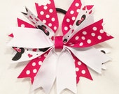 Listing For Julie Magus (2 Red White Minnie Bows)