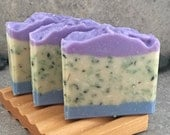 SALE - Pineapple Cilantro and Bamboo Decorative Artisan Soap