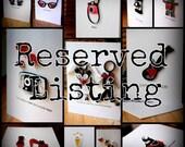 Reserved Listing for Raechel