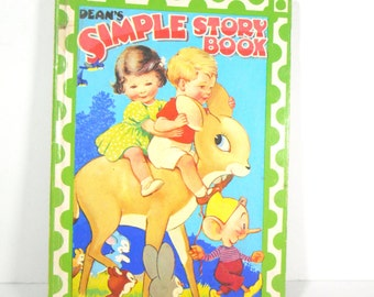 Deans Simple Story Book -  Colourful childrens story book
