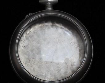 Beautiful Vintage Antique Steampunk  Pocket Watch Body Case S 53