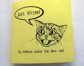 JUST KITTEN! Cat Book