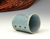 Small cup for tea or wine with Buttons by Charan Sachar - Ready to Ship