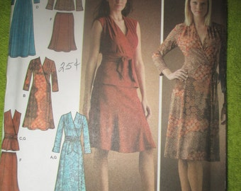 Simplicity uncut size 6-14 dress,skirt. and top pattern