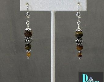 Tigereye Dangle Earrings