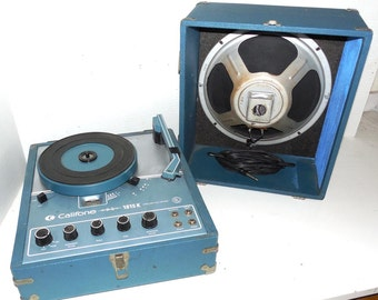 Califone 70w Record Player - Portable 1815K- Refurbished with warranty