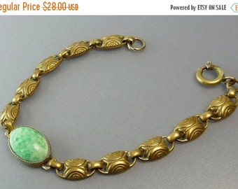 Czech Art Deco Egyptian Revival Bracelet