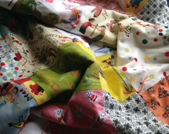 Custom Storybook Baby Quilt