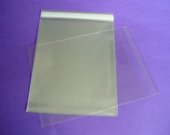 1000 10 x 13 Clear Resealable Cello Bag Plastic Envelopes Cellophane Bag