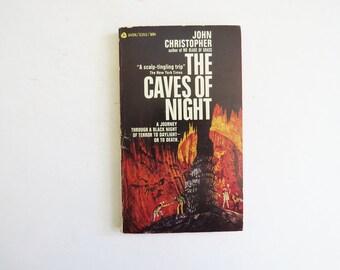 1968 The Caves of Night Paperback // John Christopher Novel // Vintage Book