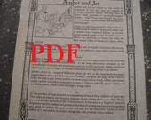 Amber and Jet PDF -- Book of Shadows -- BOS page