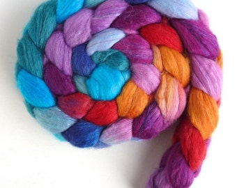 Color Music, Pre-Order CTA Spin-Along, Merino/TussahSilk Wool Roving