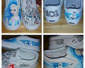 Custom Disney vans